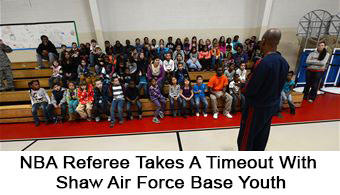 NBA Referee With Air Force Youth
