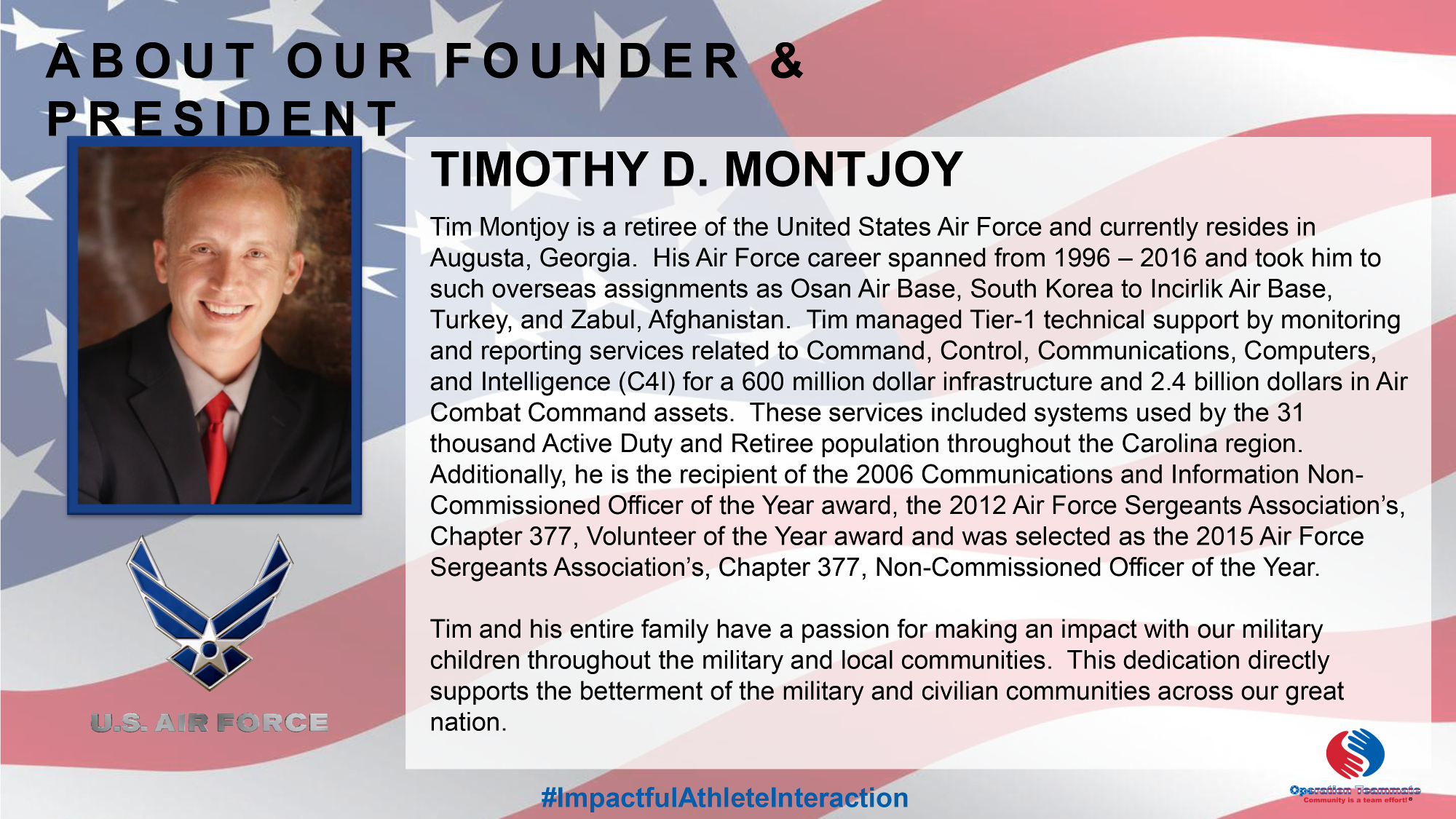 About Our Founder and President