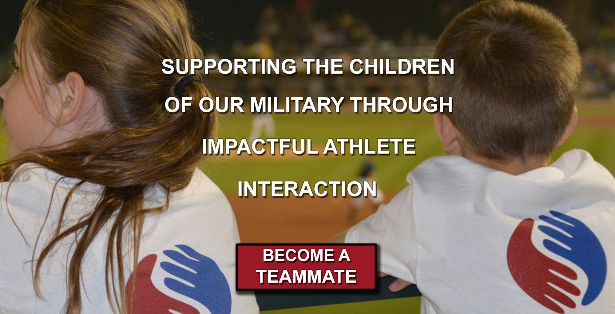 Supporting the Children of Our Military Through Impactful Athlete Interaction